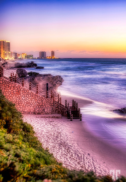 Just before the sunrise - Cancun, Yucatan, Mexico  - February