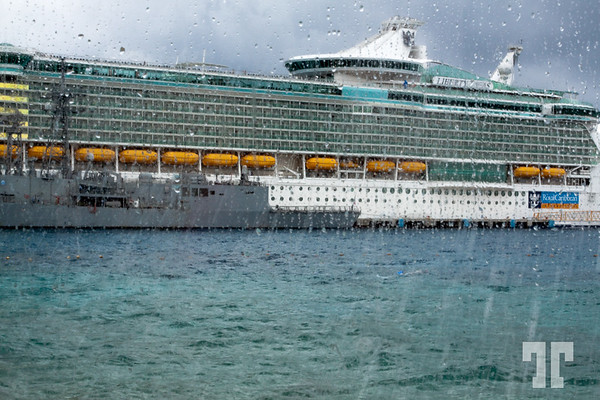 Liberty, Royal Caribbean cruise ship in Cozumel