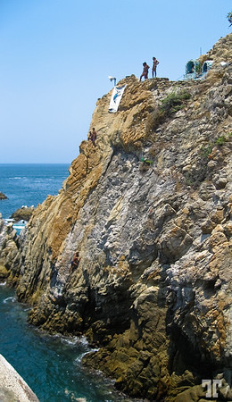 "The famous ""La Quebrada"" divers rock-13"