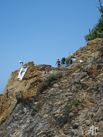 "The famous ""La Quebrada"" divers rock-5"