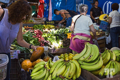 Fruits and vegetables at the Mercado in Ajijic, Mexico