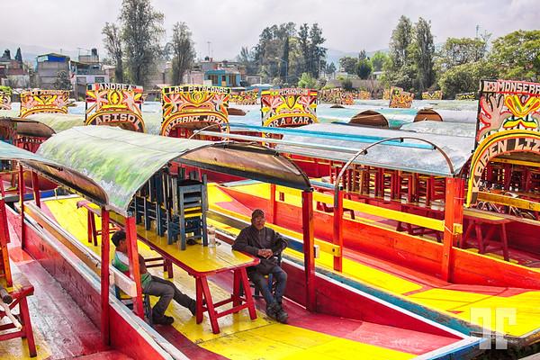 Boats-Lake-Xochimilco-Mexico-City