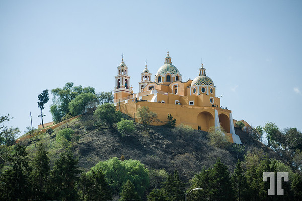 Santuario Nuestra Señora de los Remedios, Church on top of The Great Pyramid of Cholula