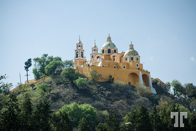 Santuario Nuestra Señora de los Remedios, Church in top of The Great Pyramid of Cholula