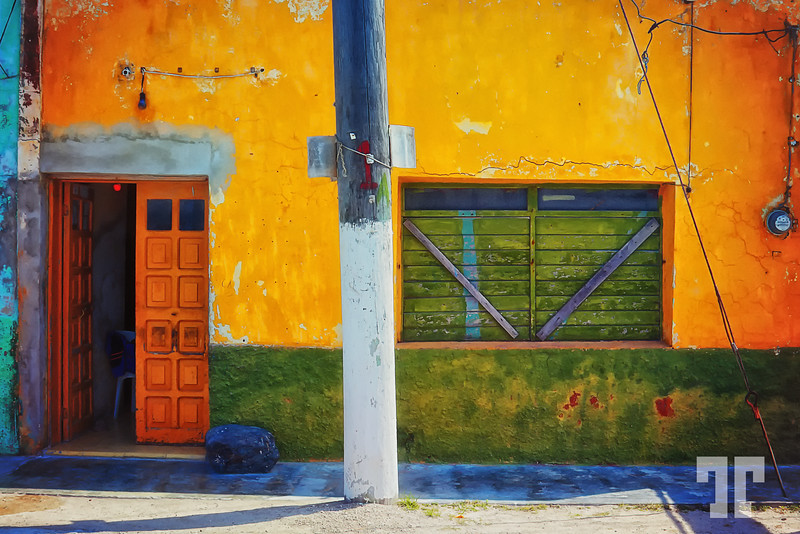 Colors and textures in Mexico
