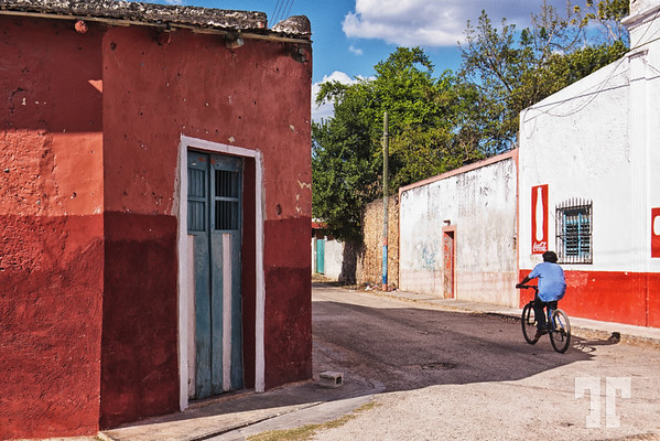 street-uxmal-village-mexico