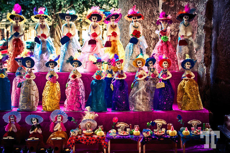 Catrina candies for Dia de Los Muertos in Patzguaro, Mexico