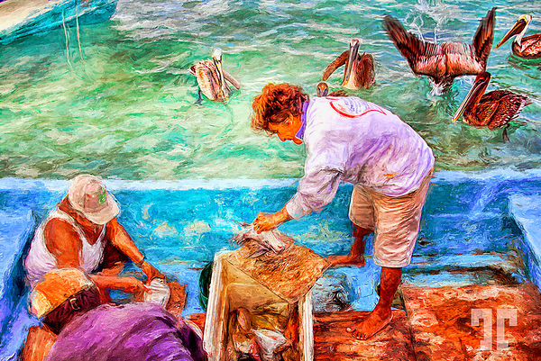 fish-cleaning-puerto-morelos