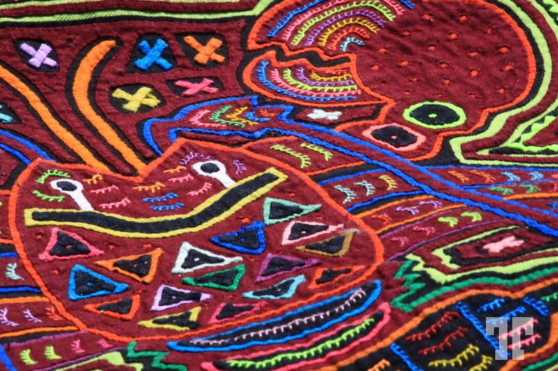 Kuna made Mola, Boquete Panama  (ZZ)