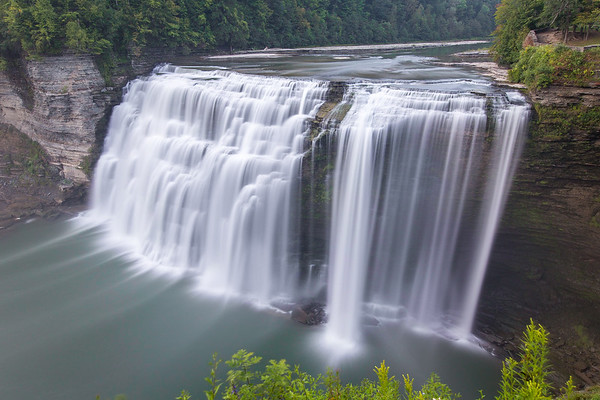 Middle Falls, Letchworth State Park, NY