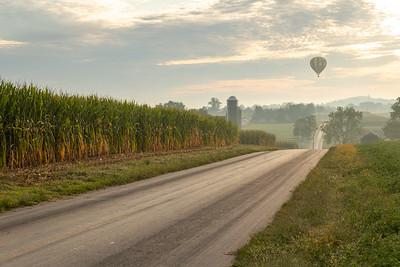 Balloon Ride Over Lancaster County
