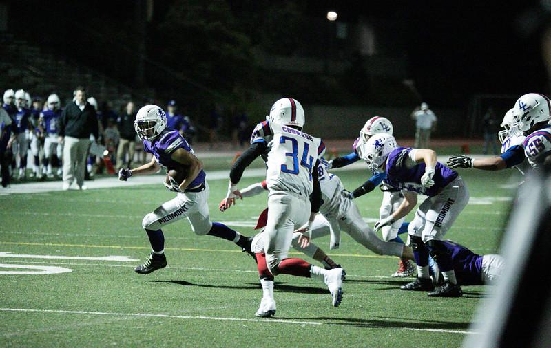 Piedmont High vs Lower Lake, NCS Playoffs, 2016