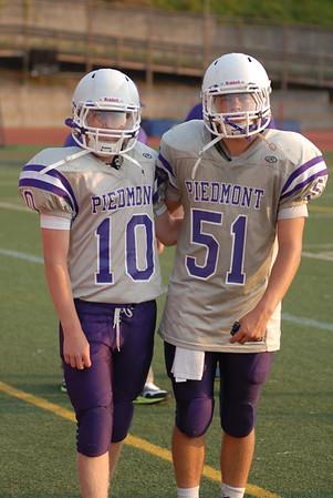 Piedmont JV vs Healdsburg 9/19/14