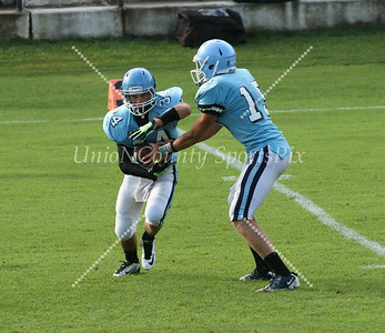 Piedmont Panthers scrimmage