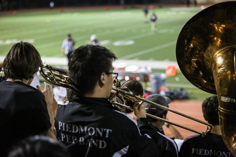 Piedmont Varsity vs Menlo Sept 8th 2017