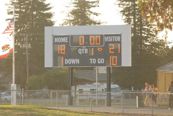Piedmont vs Hayward 10/10/14