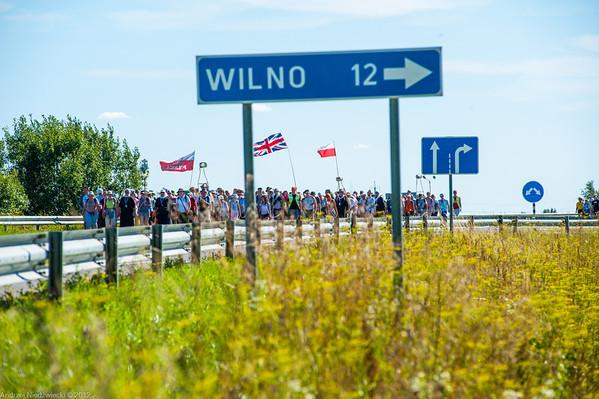 XXII  Międzynarodowa Pielgrzymka Piesza Suwałki-Wilno