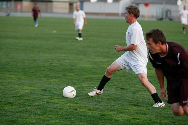 Alumni Scrimmage Soccer