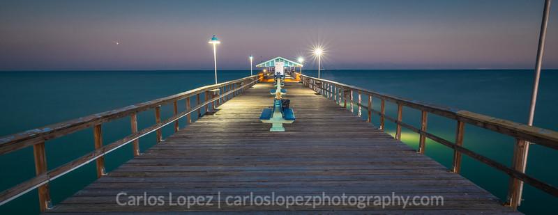 Sunset at Commercial Pier, Scene2