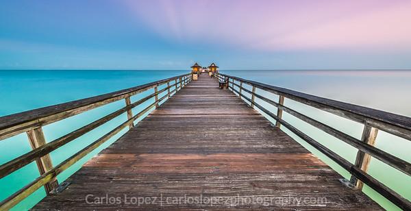 Naples Pier at sunrise (Labor Day 2014)