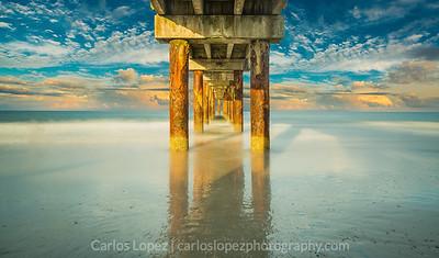 St. Augustine Pier Sunset