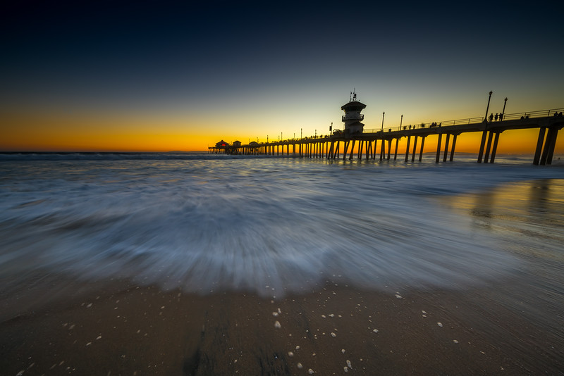 Huntington Beach pier.