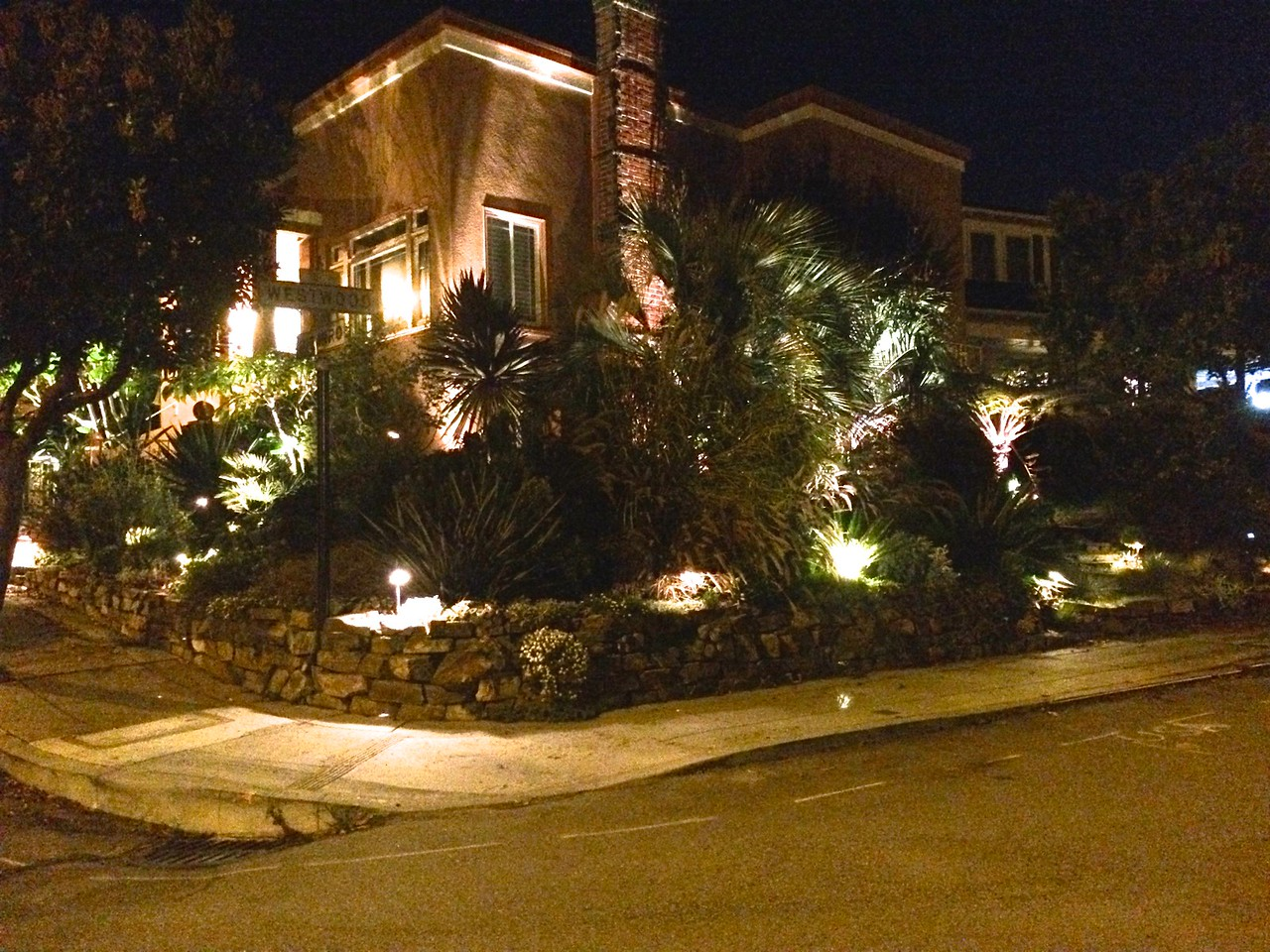 30 fixture outdoor lighting project.