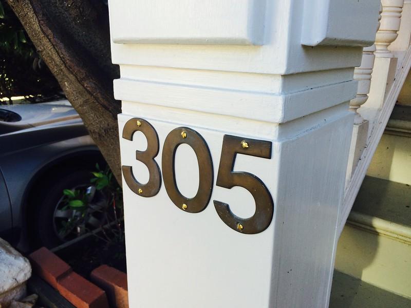 Rebuilt newel  post fully installed.