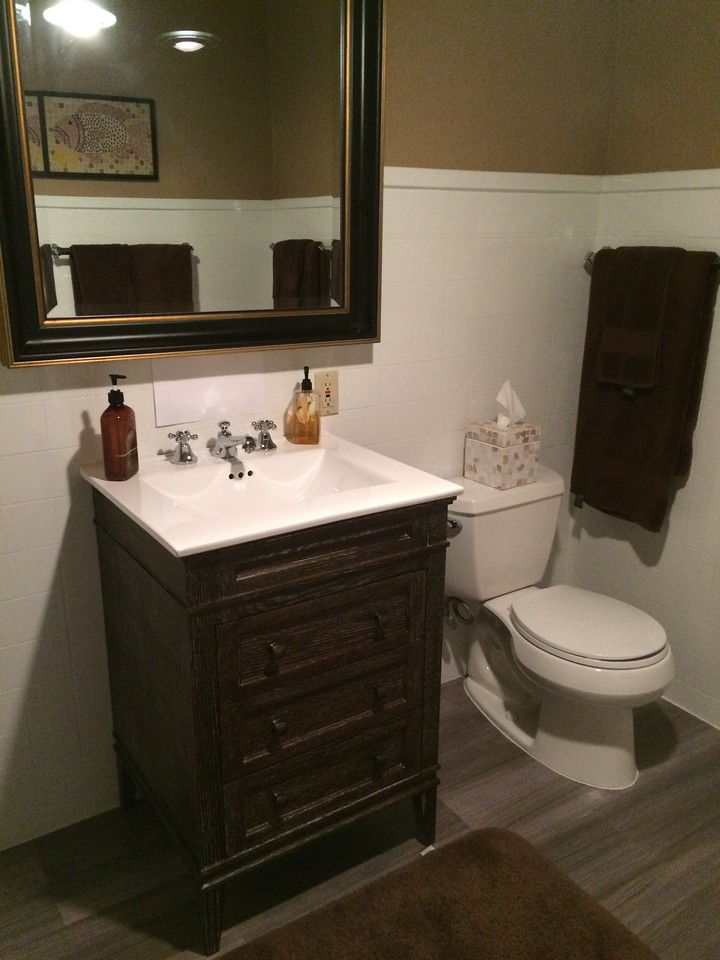 Bathroom after.