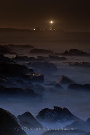Bolsa night rocks