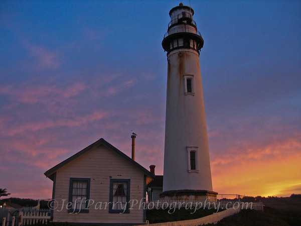 Sunrise at Pigeon Point Lighthouse