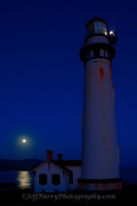 Full Moon at Pigeon Point Lighthouse