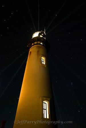 Pigeon Point Lighthouse Fresnel Lens Lighting