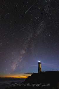 Milkey Way Galaxy over Pigeon Point