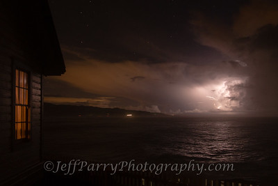 Lightning at Pigeon Point