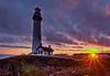 Pigeon Point Sunset splash