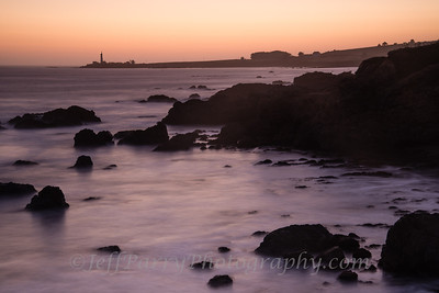 Pigeon Point sunset after glow