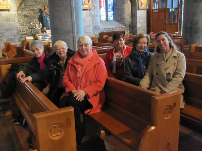 Adare & Mass at Holy Trinity Abbey 4.1