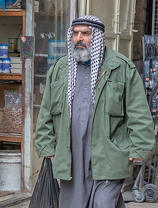 Palestinian (black and white)