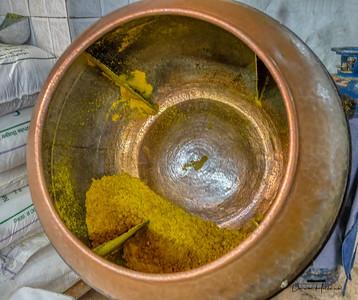 Saffron used in a sweet treat