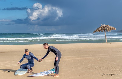 """Surfing seems to be the Israelis """"morning jog""""..."""