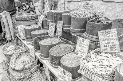 Spices are a big part of the market