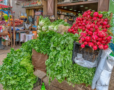 Produce delivered daily in all cities we visited