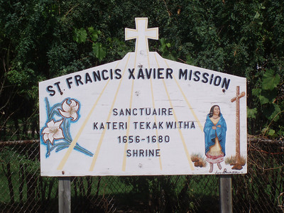 St. Xavier's in Kahnawake Canada 8.2012