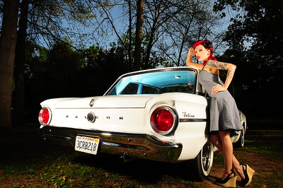 Heather-Lynn Pinup photo shoot