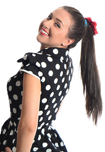Charity C Mauss- Polkadots and Ponytails