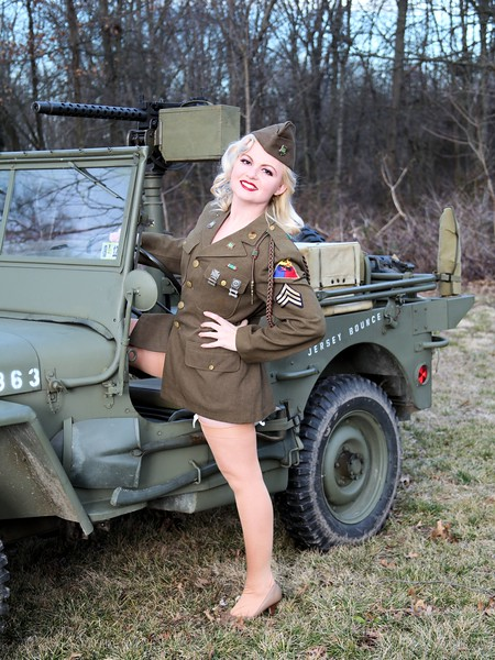 Jeeps and Pinups