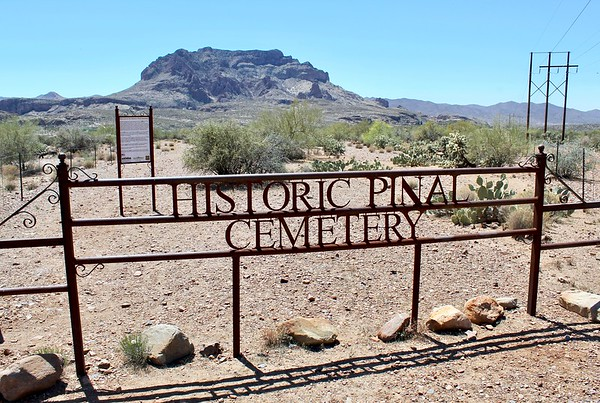 Entrance to the Pinal Cemetery (2018)