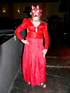 Scott Montgomery's Paul Whitehead Genesis Foxtrot-inspired costume. Even though he didn't win the costume contest this gets my vote for Prog costume of the year!