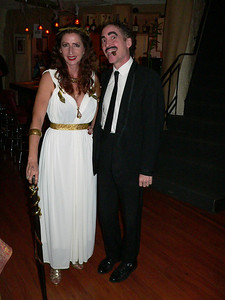 The Bradford's.  Sharon won best female costume.